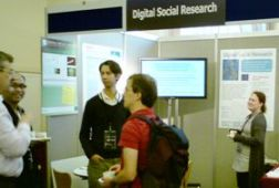Digital Social Research booth