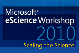 MS eScience 2010 logo